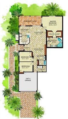 Fiddler's Creek Florence Coach home floor plan! #LennarSWFL
