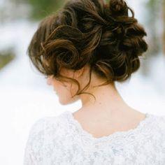 big curls, bridesmaid hair, romantic hair, wedding updo, prom hair, bridal hair, soft curls, wedding hairstyles, curly hair