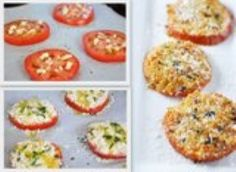 Myfridgefood - Cheesy Garlic Tomatoes