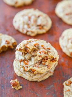 Soft and Chewy Cinnamon Chip Snickerdoodle Cookies averiecooks.com