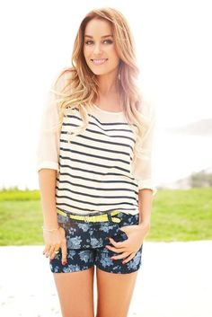 LC Lauren Conrad for Kohls. Need these shorts with a white button down for summer!