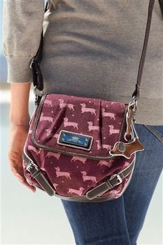 Dachshund Bag, so cute
