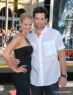 The actors who play Sharon and Adam Newman on The Young and the Restless.