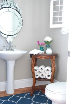 Lovely Little Powder Room