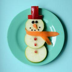 cutest snowman snack