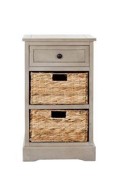 Carrie Side Storage Side Table