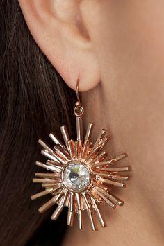 Starburst logo earrings #bostonproper #fearlesslyfeminine