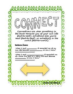 Reading Is Thinking: Reading Strategies of Great Readers - Connections, Predictions, Inferences, Questions, Summarizing - teach and practice with this printable bundle!