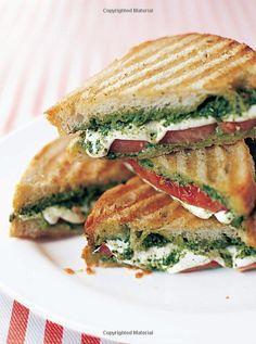 tomato, mozzeralla, and pesto   *pretty self explanatory...if you like the ingredients, you'll like the panini dinner, pesto panini, sandwich, panini recipes, food, mozzarella pesto, paninis, yummi, tomatoes