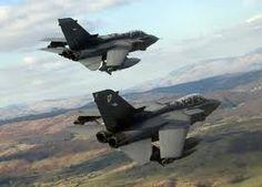 Royal Air Force Tornado Fighter Jets...