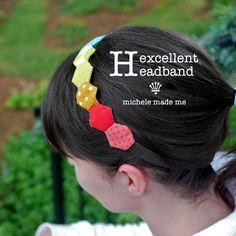 michele made me: Tutorial: Hexcellent Headband