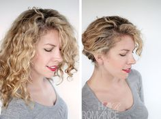 easy updo curly, updo for curly, hairstyle tutorials, hairstyl tutori, easy curly hair, curly updo tutorial