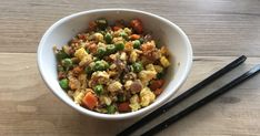 Egg stir-fried cauli