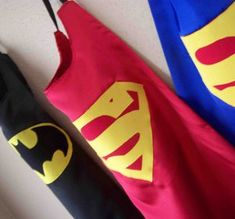 Comic Book Hero Capes are the perfect finishing touch to a homemade Halloween costume. These capes look anything but homemade.