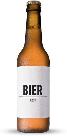 Beer | #packaging #bottledesign
