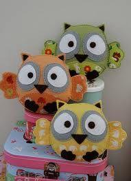 Felt owlets