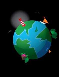 How to Create a Cute Earth Illustration in Vector - Tuts+ Design & Illustration Tutorial