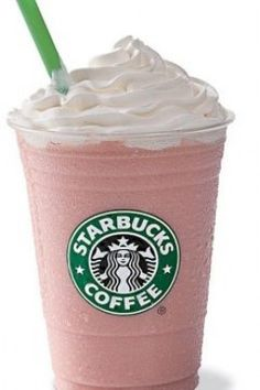 Raspberry Peach Swirl Frappuccino!!! Love Frappuccinos? Love raspberry? Love peach? You will absolutely LOVE the Rasperry Peach Swirl Frappuccino! The perfect mix of tropical and cold! @starbuckssecretmenu