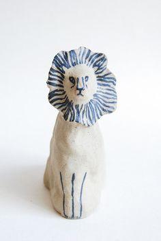 lion by kaye blegvad