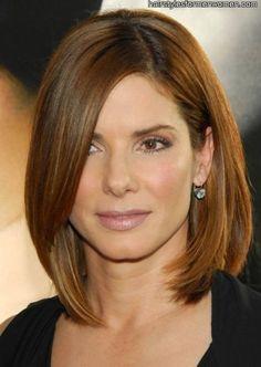 shoulder length hair styles - Bing Images
