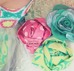 Fabric Rose Flower PDF Pattern Opal by Snazziedrawers on Etsy, $7.50