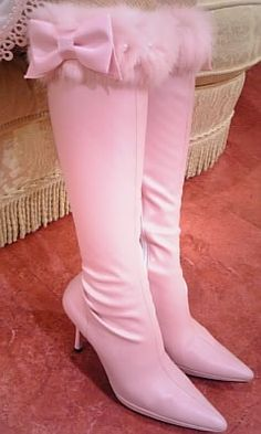 Pink boots  #pink #color #colours