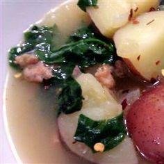 Tuscan Soup Allrecipes.com