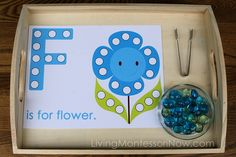F is for Flower Activity by Deb Chitwood, via Flickr