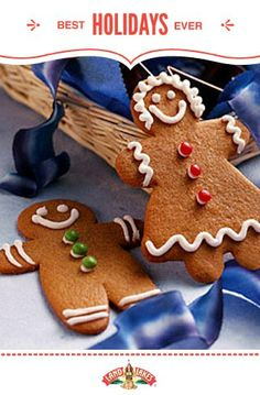 You can't go wrong with a childhood classic like Holiday Ginger Cookies. #BestHolidaysEver