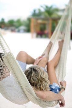 couple beach, cute couples summer, relax, hammocks, cute beach couples, honeymoon resort, beach love couple, couple summer, beach romance