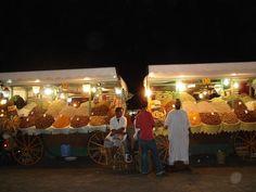 Colourful Night Markets.