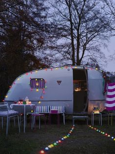 Another take on 'glam camping.'