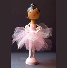 Ballerina Clothespin Doll