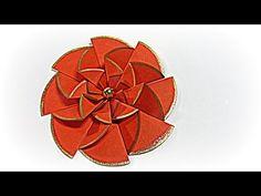 Flores de papel fáciles. Paper flowers easy. - YouTube