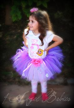 Tangled Birthday Party Outfit