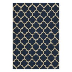Morocco Rug 5x7 Navy, $279, now featured on Fab.