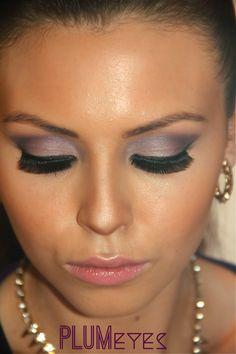 Plum Eyes Tutorial #KissableComplexions makeup blog