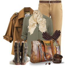 """""""Autumn with Anuschka"""" by leegal57 on Polyvore"""