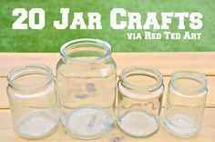 Great Jar Craft ideas.
