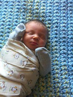 Two Easy Crochet Baby Blankets
