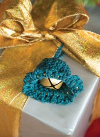 Jingle Bell Ornament Digital Crochet Pattern from Love of Crochet's Holiday Crochet 2014 Issue - Beaded edges create a fun decoration