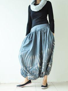 tie-dye harem pants :)