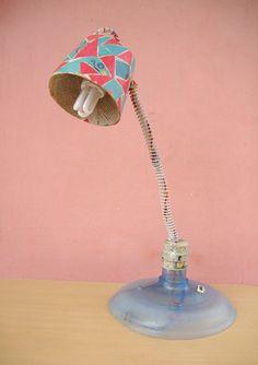 DIY Paper mache craft – Lampshade | M@de by Lakshmi