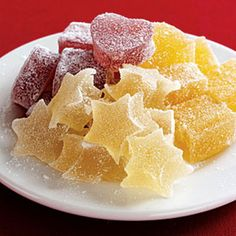 Healthy Holiday Treats  Fruit Jellies    These homemade candies are the perfect economical, edible gift. They're made with fresh juice and cost about a dime per serving!
