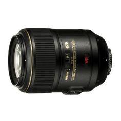 Nikon 105MM AF-S VR 105 f/2.8G IF-ED Micro Nikkor Lens