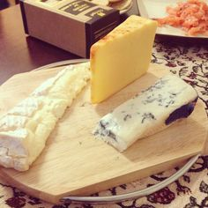 Array of cheeses