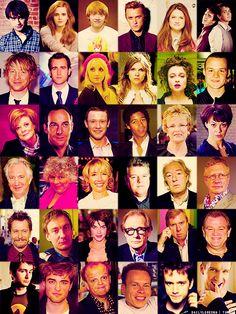 Harry Potter Cast.