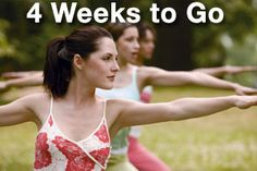 a four week bridal body bootcamp plan...good for any upcoming event or just to have a nice routine to follow.