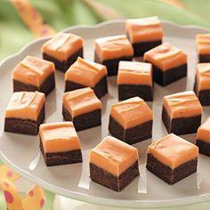 Halloween Layered Fudge Recipe from Taste of Home
