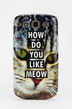 UO Samsung Galaxy S3 Phone Case #urbanoutfitters